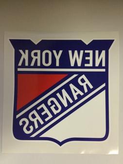 "12"" NHL New York Rangers Vinyl Bumper Sticker Decal Car Truc"