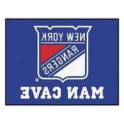 FANMATS 14461 NHL New York Rangers Nylon Universal Man Cave