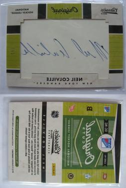 2012-13 Panini Classic Signatures Neil Colville 1/1 original