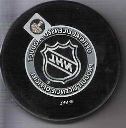 2015 Presidents Trophy Puck honoring the New York Rangers