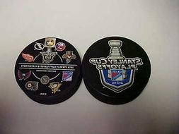 2016 NHL New York Rangers Stanley Cup Playoffs Hockey Two Pu