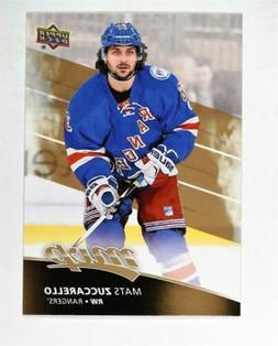 2017-18 Upper Deck MVP Base #188 Mats Zuccarello - New York