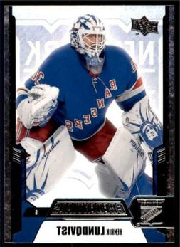 2019-20 Credentials Base #31 Henrik Lundqvist - New York Ran