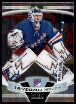 2019-20 OPC Platinum Base #45 Henrik Lundqvist - New York Ra