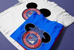 2020 NEW DISNEY New York Rangers FAMILY VACATION T-SHIRTS