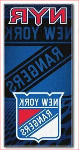 "Beach Towels 30"" x 60"" Fiber Reactive - NHL New York Rangers"