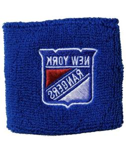 Brand New New York Rangers Wristbands Sweatbands Two Pack Bl
