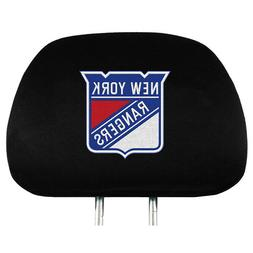Brand New NHL New York  Rangers  Set Of 2  Black Vehicle Car