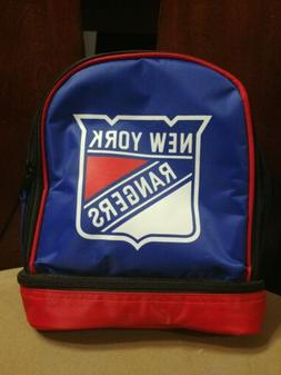 Forever NHL Football Lunchbox New York Rangers Insulated Lun