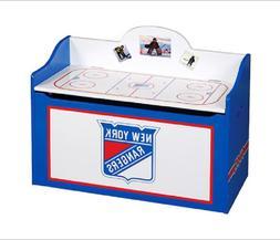 Guidecraft NHL - New York Rangers Toy Box