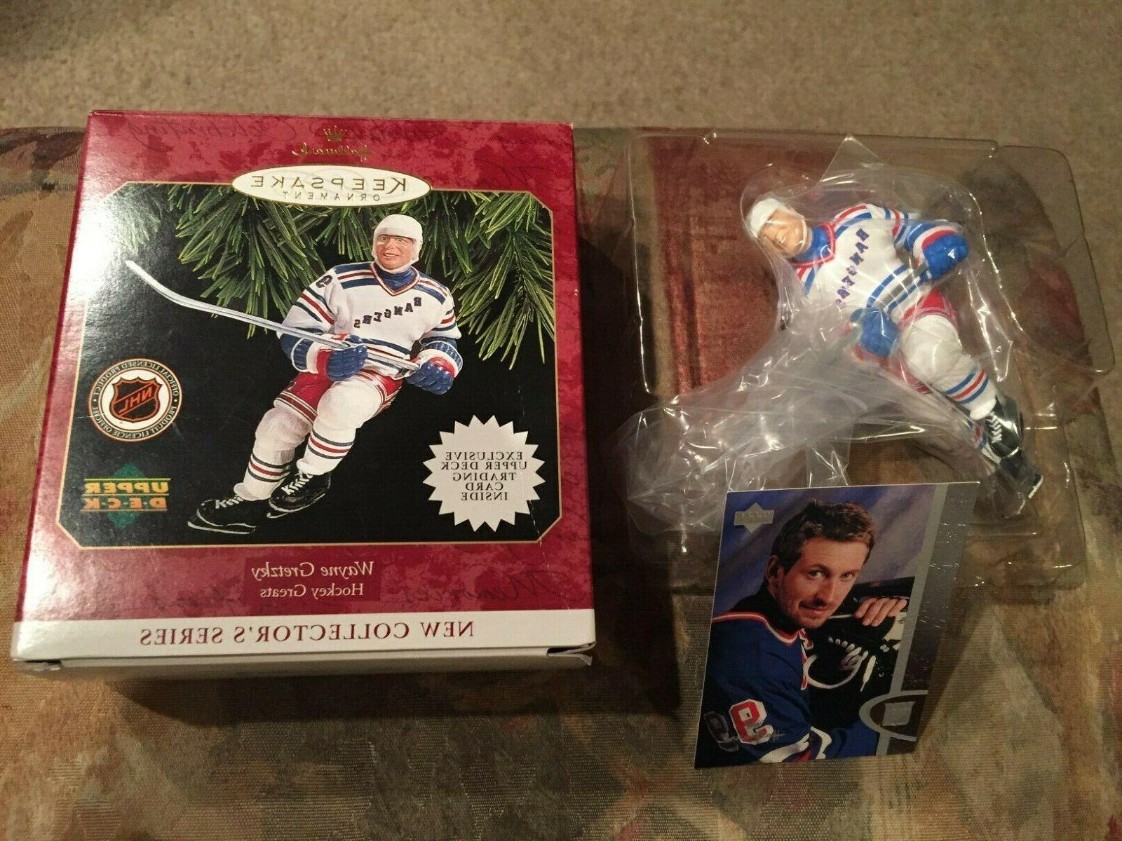 1997 wayne gretzky hockey hallmark keepsake ornament