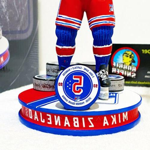 MIKA New Rangers Goal Exclusive NHL