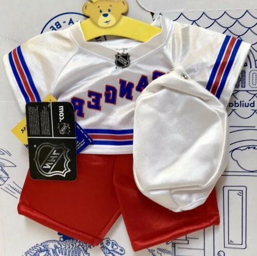 New Hockey NHL Costume Set Lot White New York Sport