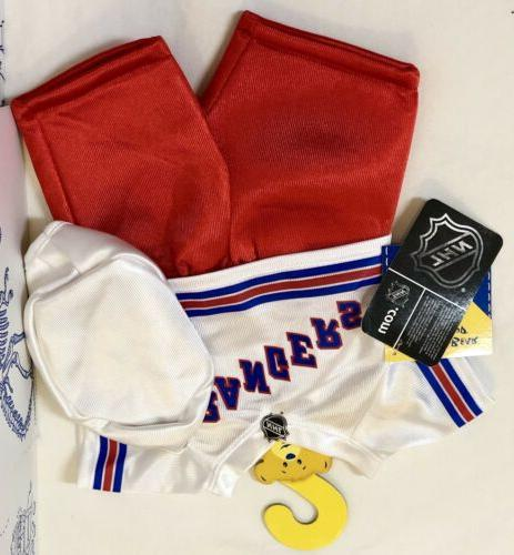 New Build A Bear Costume White New