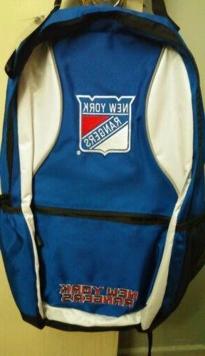 new nhl new york rangers backpack