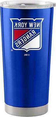 New York Rangers 20oz Ultra Travel Tumbler  NHL Cup Mug Coff