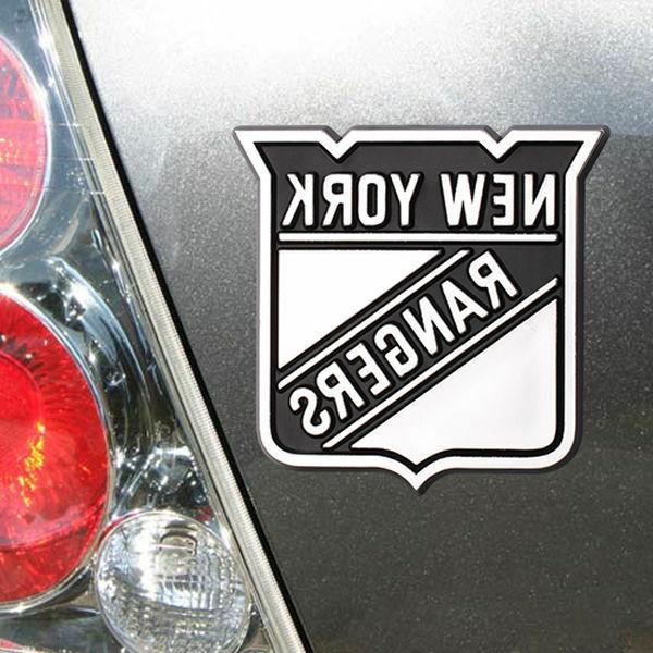 new york rangers chrome auto truck emblem