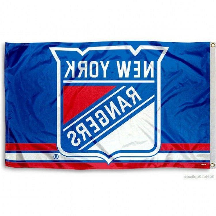 new york rangers flag 3 x5 nhl