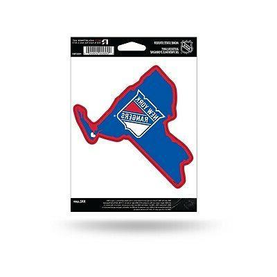 new york rangers home state sticker flat