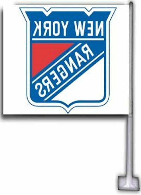 new york rangers nhl car flags 12