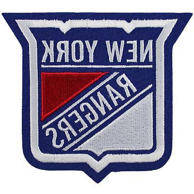 new york rangers primary shield nhl hockey