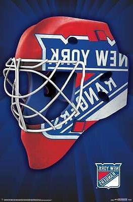nhl new york rangers mask