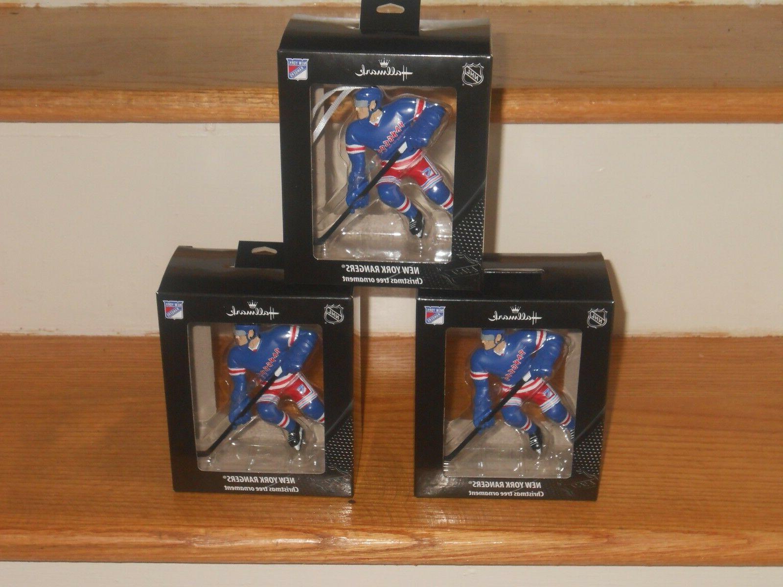 three new york rangers 31 2 inch