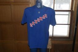 Lot of 3 Reebok Hockey NHL New York Rangers Shirt Jersey S +