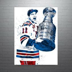 Mark Messier New York Rangers NHL Hockey Poster FREE US SHIP
