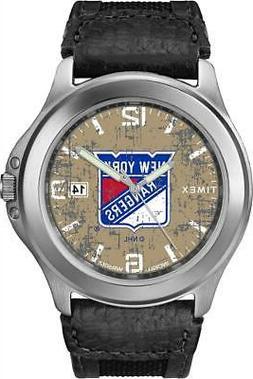 Men's New York Rangers NY Watch Timex Old School Vintage Wat