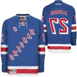 New Men's REEBOK NHL PREMIER JERSEY Ryan McDonagh Blue Home