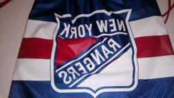 New York NY Rangers DrawString Back Sack Sling Bag Gym Backp