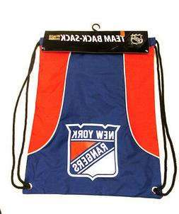New York NY Rangers DrawString Back Sack Sling Bag Gym Backp