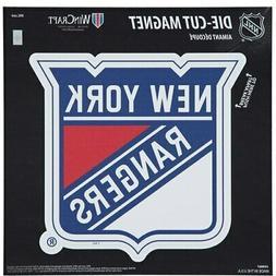 "New York Rangers 12"" x 12"" Car Magnet"