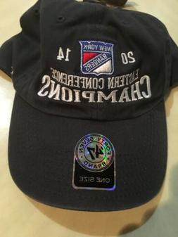 New York Rangers 2014 Eastern Conference Champions Gray Hat