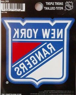 "New York Rangers 3"" Flat Vinyl Sport Die Cut Decal Bumper St"