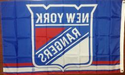 New York Rangers 3'x5' Banner Flag Ships Free From North Car
