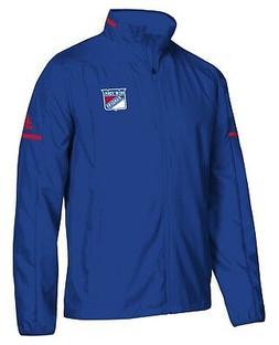 "New York Rangers Adidas NHL Men's ""Penalty Box"" Full Zip Rin"