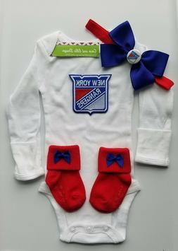 New York Rangers baby clothes girl NY Rangers newborn Ny Ran