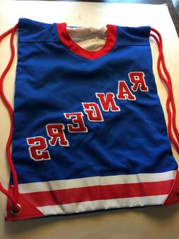 New York Rangers back pack REDUCED$$$!, made of  jersey mate