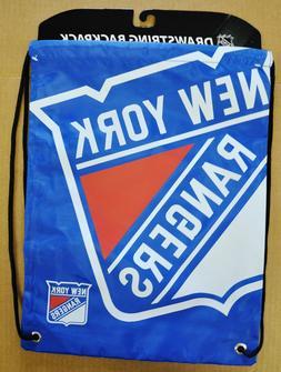 new york rangers big logo drawstring back