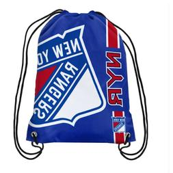 Forever Collectibles New York Rangers Big Logo Drawstring Ba