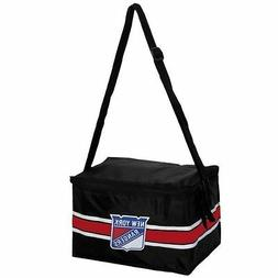 """NEW YORK RANGERS """"BOX SEAT"""" INSULATED COOLER BLACK NEW & OFF"""