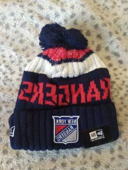 New York Rangers Cap Hat NHL Hockey New Era Beanie