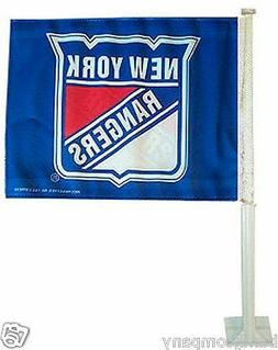 New York Rangers  CAR TRUCK FLAG  TWO SIDED Show Your True T