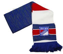 New York Rangers Reebok Center Ice NHL Hockey Team Logo Knit