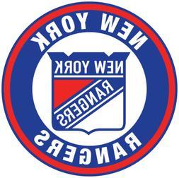 New York Rangers Circle Logo Vinyl Decal / Sticker 5 Sizes!!