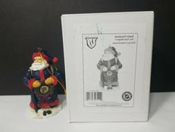 New York Rangers Memory Company First Series Santa Ornament