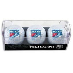 New York Rangers Golf Balls 3 Pack