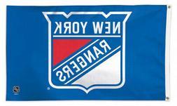 NEW YORK RANGERS Huge 3'x5' Official NHL Hockey Team Deluxe